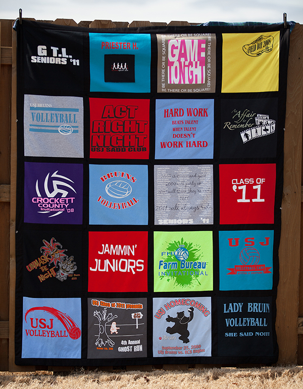 T Shirt Memory Quilt Makers | T-Shirts to Treasures : tee shirt quilt makers - Adamdwight.com